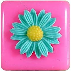 Pequeña margarita Molde de silicona para la torta de Decoración Pastel de Cupcake Toppers Glaseado Sugarcraft Tool por Fairie Blessings
