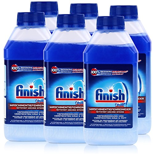 Calgonit Finish Spül-Maschinen-Pfleger 5x Power 250ml (6er Pack)