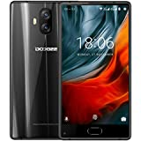 Smartphone 4G Pas Cher, DOOGEE MIX Lite Telephone Portable Debloqué (Écran: 5,2 Pouce - MT6737 Quad Core - 2Go + 16Go - 13MP+13MP Double Caméras - Empreinte Digitale - Double SIM - Android 7.0) Noir