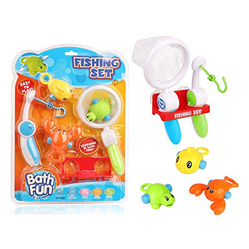 baby 1st Fishing Set - Baby Bath time Fun Bath Toys for Kids, Toddlers 18 Months by (Fishing Set)