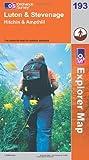 Luton and Stevenage (Explorer Maps) (OS Explorer Map)