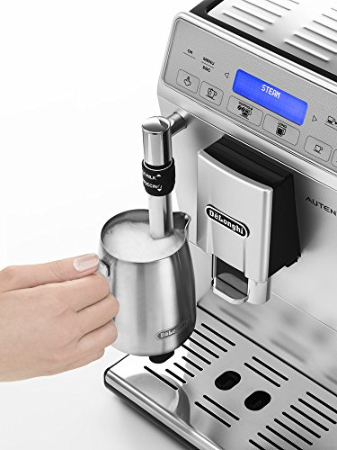 51yDQgkPW2L - De'Longhi Autentica Cappuccino, Fully Automatic Bean to Cup Coffee Machine, Espresso Maker, ETAM29.660.SB, Silver and…