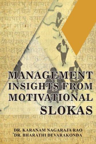 Management Insights from Motivational Slokas