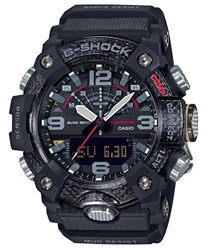 G-Shock Negro [Casio] Compatible con Bluetooth Choque Reloj Gee Estructura de protección núcleo de...