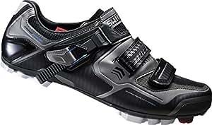 Shimano Women's Cycling Shoes MTB Wheel SH–WM63L G SPD Shoes Velcro/RATSCHENV. Black multicoloured Size:36 (EU)