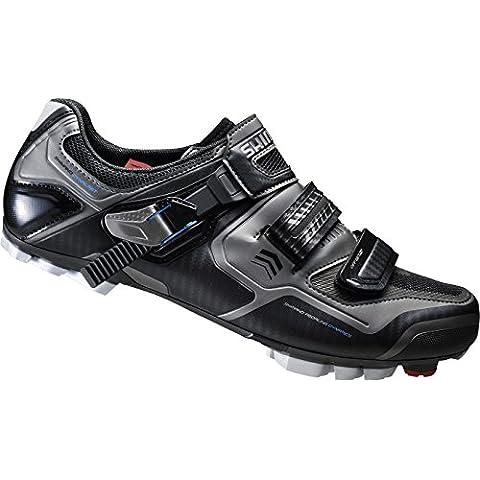 Shimano MTB guantes de ciclismo bicicleta GUANTES para adultos SH de xc61l gr. 38SPD Velcro de/ratschenv., multicolor, 38, E de shxc
