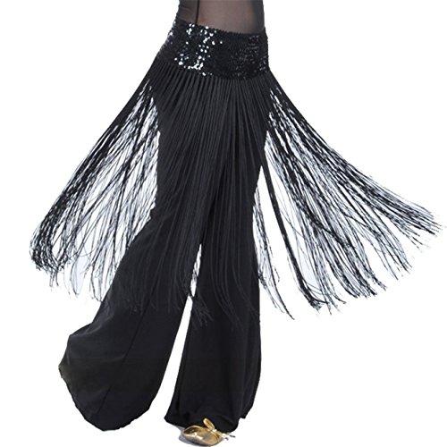 Kostüme Zum Verkauf Ballett (Bauch Tanzen Gürtel Sequins Tassel Elastizität Bund Hüfte Schal Rock)