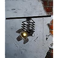 ZGW Projecteurs Spotlights LED À Tête Unique Luminaire De Plafond Créatif Projecteur Rétractable Feux Décoratifs En Mur D'arrière-plan ( Couleur : B )