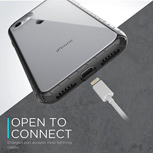 iPhone 7 Case Plus Case, X-Doria (scène) pour iPhone 7 Plus, Effacer Vu, couleur Edge, Shock Absorber, Premium de protection iPhone 7 Case Plus (Se leva) Jaune