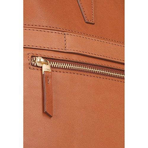 Bree Stockholm 43 Handtasche Leder 41 cm Laptopfach Whisky