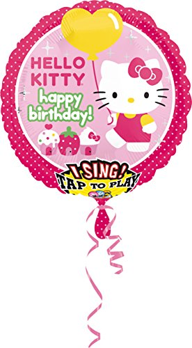 nballon Sing-A-Tune Hello Kitty - Happy Birthday (Halloween-party Tunes)