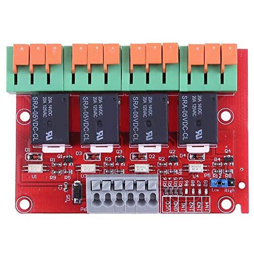Cikuso 4 Kanal 20A Relaissteuerung modul 8ch Controller für MEGA2560 R3 Raspberry Pi