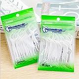 40PCS alto polimero bene Smooth Floss bastone rotondo filo forma di arco stuzzicadenti ad alta tensione filo interdentale pulizia orale