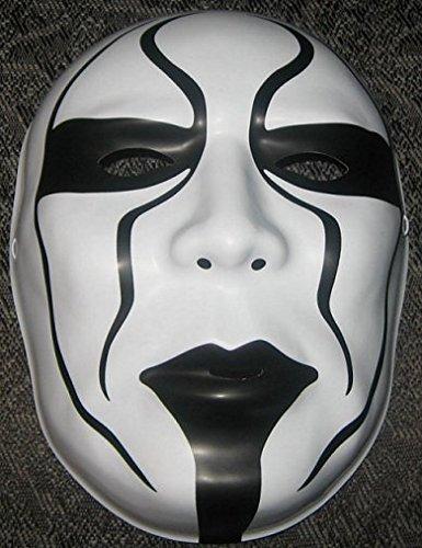 Sting WWE Offiziell Maske - Kostüm Verkleidung Kostüm Outfit Halloween Gesichtsmaske - mit Gummiband (Wwe Wrestling Outfits)