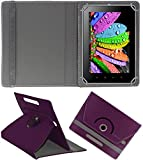 DMP 360 Degree Rotating Leather Flip Case Book Cover With Stand For Apple iPad Air 2 – Purpal