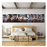 NR Overwatch Videogiochi Poster HD Sexy Anime Ragazze Picture Poster Pittura Arwtork Dipinti su Tela Wall Art Painting-40x180cm Senza Cornice