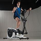 BH Fitness Crosstrainer Ellipsentrainer CRYSTAL-18 kg Schwungmasse-bis 150 kg Nutzergewicht-Pulsprogramme-Wattprogramm-24 Widerstandsstufen-G2381 - 4