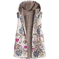 Geili Damen Winterweste Baumwolle Weste Winterjacke mit Kapuze Frauen Vintage Warme Ärmellos Jacken Blumen Drucken... preisvergleich bei billige-tabletten.eu