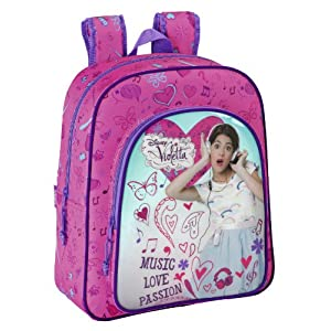 Violetta – Mochila Junior Adaptable, 32 x 38 x 12 cm (SAFTA 611347640)