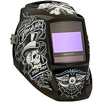 Miller 257214 serie Elite Digital velocidad de la suerte tienda soldadura casco, Motorsports