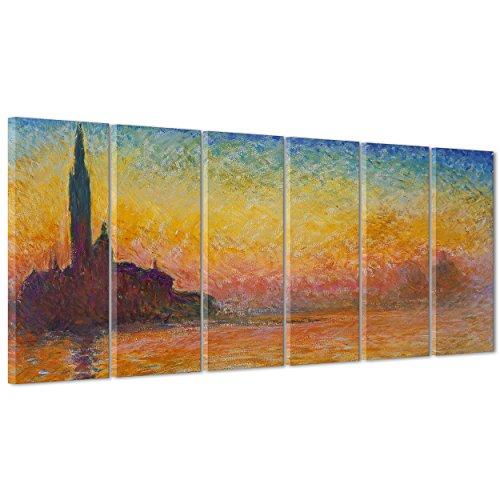 Cuadro sobre lienzo Canvas–ConKrea–Listo para colgar–Claude Monet–Arte estilo impresionista