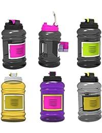 Bazaar 2.2l grand grand bpa sport sans formation gymnase bouteille d'eau de boisson avec étui de rangement