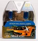 H8 Xenon Halogenlampe Night Light Super White 6000K 12V 55Watt
