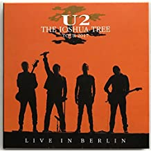 U2 LIVE IN BERLIN 2017 The Joshua Tree Tour limited edition 2CD set in cardbox