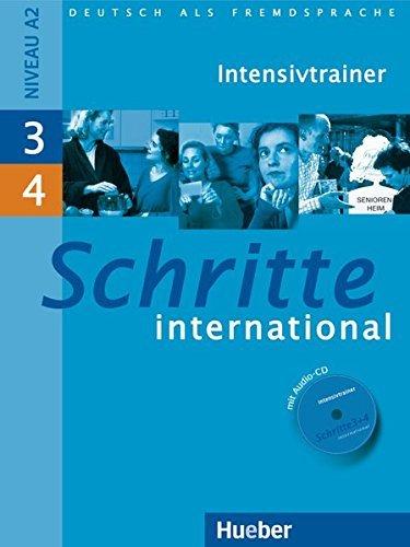 Schritte International: Intensivtrainer MIT Audio-CD 3 & 4 by Daniela Niebisch (2009-07-08)