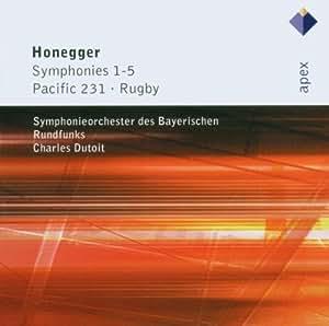 Honegger : Symphonies n° 1 à n° 5 - Pacific 231 - Rugby