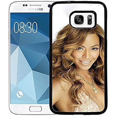 Samsung Galaxy S7 Étui pour téléphone Beyonce Singer Galaxy S7 Custodia Case Beyonce Unique Custodia Case for Samsung S7 Beyonce Phone Cover