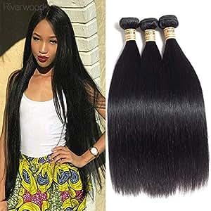 Malaysian Straight Hair 3 Bundles(22 24 26) 100% Unprocessed Human Virgin Hair Weave Natural Color