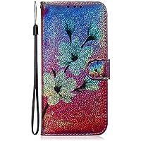 Lomogo Funda Galaxy S9+ (S9 Plus), Cartera Funda de Cuero Ranuras para Tarjetas Cierre Magnetico Soporte Plegable Carcasa Antigolpes para Samsung Galaxy S9+ (S9Plus) - LOTXI150357 L6