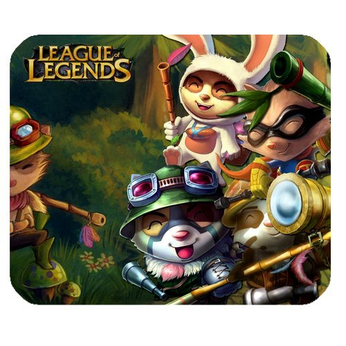 Fashion Mat (League of Legends Teemo, the Swift Scout Rectangle Mouse Pad / Mouse Mats, Durable Printing Customized Fashion Computer Mousepad at Cool-design)