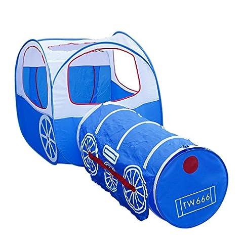 Kinder Zelt OUTAD Kinder-Abenteuer-Spiel-Zelt und Tunnel-Hof-Design Kinderzelt (Smoby Kletterturm)