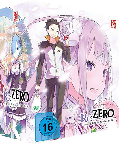 Re:ZERO - Starting Life in Another World - DVD Vol. 1 + Sammelschuber - Limited Deluxe Edition