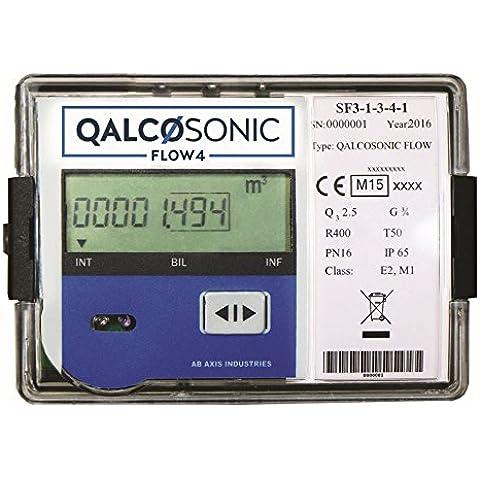Misuratore di portata a ultrasuoni liquidi QALCOSONIC FLOW4