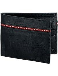 Laurels Mayhen Black & Red Men's Wallet (Lw-Mh-0210)