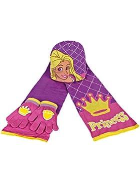 Palace Pets 2200000346 - Set de 3 piezas con bufanda, gorro y guantes para niños, color rosa, talla única