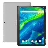 Tablet 10 Zoll Android 9.0 - HAOQIN H10 Tablet PC Quad Core 32GB Speicher 2GB RAM IPS HD Display 1280x800 Dual Camera WiFi Bluetooth HDMI Google Certified (Grau)