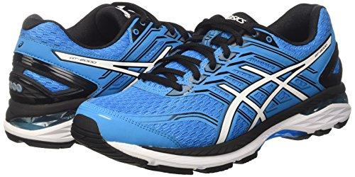Asics Men's Gt-2000 5 Running Shoes, Multicolor (Island Blue/White/Black), 10.5 UK