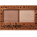 w7 Hollywood Bronze and Glow Duo bronzer and highlighter