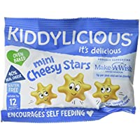 Kiddylicious Cheesy Stars, 12 g, Pack of 12 preiswert