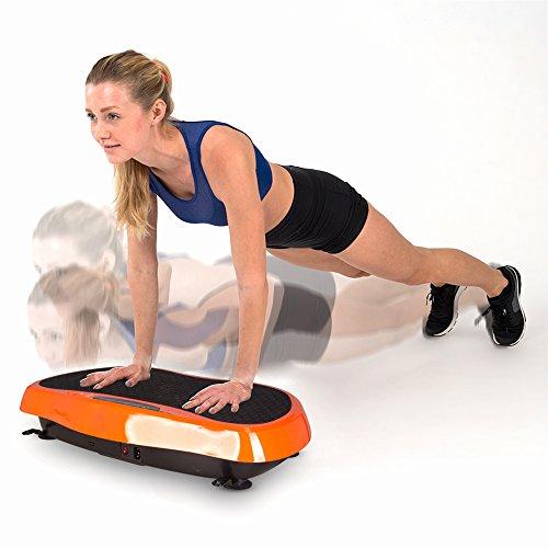 Vibro Shaper Premium placa de vibración vibración Plate vibración Trainer Cuerpo Entero Fitness dispositivo Entrenamiento de cuerpo entero