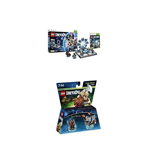 LEGO - Starter Pack Dimensions (Xbox 360) + LEGO Dimensions - El Señor De Los Anillos, Gimli 1