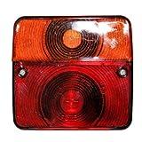 2x Anhänger Rücklicht Kammer Leuchte Beleuchtung mit Kennzeichenbeleuchtung e-geprüft 12V 24V Trailer KfZ Otto-Harvest