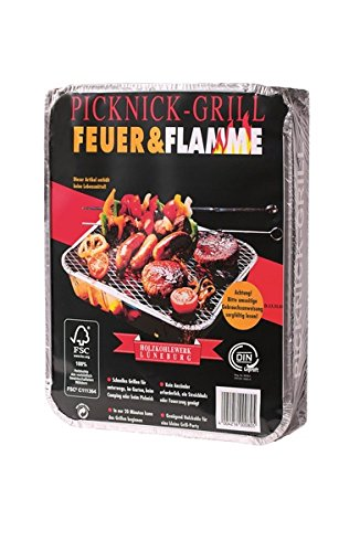 51yDrrWP1zL - Feuer & Flamme - Picknick Grill