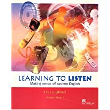 Learning to Listen: Level 3 Student's Book: International Version No.3 by Lin Lougheed (2002-11-14)