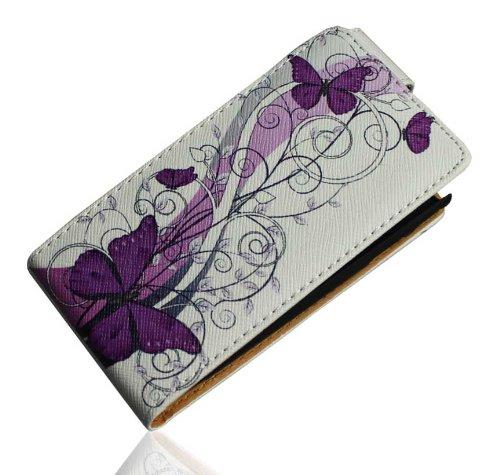 Handy Tasche Case Flip f. Samsung Galaxy Ace Plus GT-S7500 / Handytasche Schutzhülle JS M17