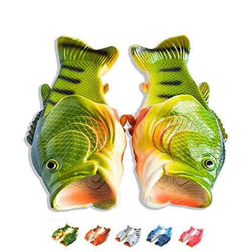 Coddies Klassische Fisch-Flops | Strandschuhe, Flip Flops, Freizeitschuhe, Hausschuhe, Duschschuhe und Sandalen für Männer, Frauen und Kinder (44/45 EU Grün)
